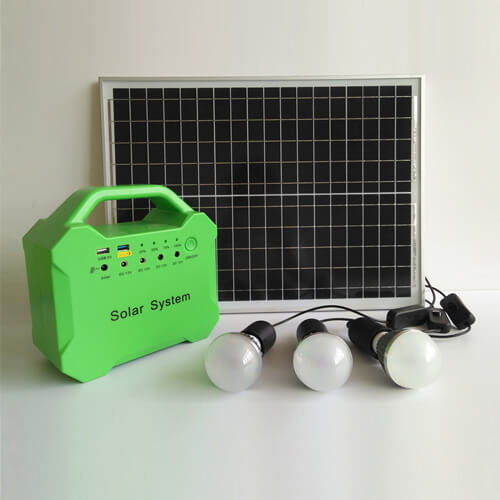 20W Solar Generator with LiFePO4 Battery