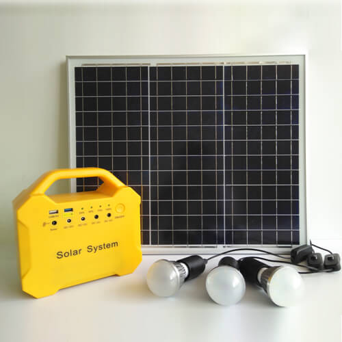 30W Solar Generator with LiFePO4 Battery